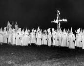 4) Klu Klux Klan