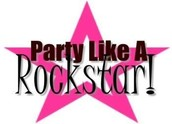 Selling Rockstars: Congratulations for entering $200 in sales this month!