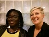 Hello from Anita and Tiffany!