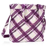 Retro Metro Fold-Over - Plum Plaid