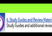 Know where to find the helpful handouts and review sheets