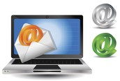 We also use computers to email and contact clients about properties.