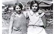 Victoria Price and Ruby Bates