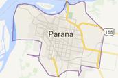 Mapa de Paraná
