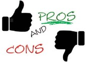Pros vs. cons