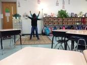 Cheering on Spelling Words