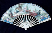Hand-Painted Fan