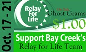 Support our Relay for Life Team!