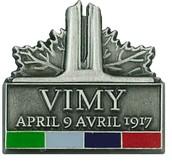 Vimy Ridge Pin