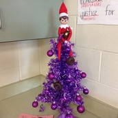 Day 2: Purple Christmas Tree