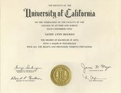 Degree/Certificate/ Training necessary