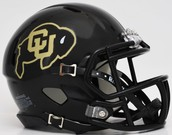 Colorado football helmet