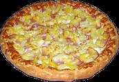 La pizza hawienne