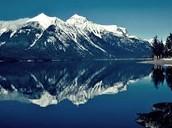 Mountins at the Waterton Lakes