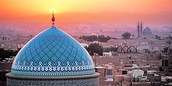 Famous Iranian mosque