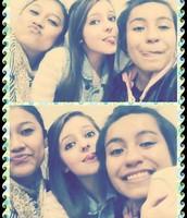 With aysha & dora