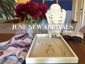 June is a great time for a Trunk Show on the patio!