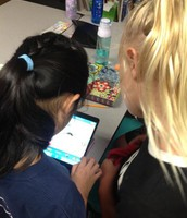 Chatterpix being used to review lab tools!