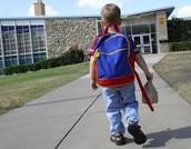Mi primeró dia con escuela