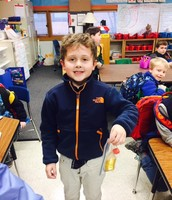 The kindergarten students studied many different holiday traditions.
