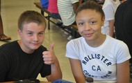 Thumbs up for Lunch at NW