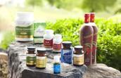 Una línea de productos basada en aceites esenciales