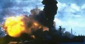 Final explosion on The USS Arizona
