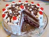 Schwarzwalder Kirschtorte (Black Forest Cake)