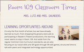 Classroom Updates with Smore