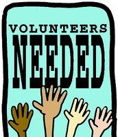 Show volunteers needed!