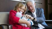THIS IS CHELSEA  clinton with her family!!!!!!!!!!!!!!!!!!