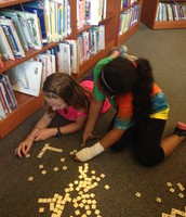 Juhi and Jamie love bananagrams!