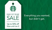 Starbucks Sale