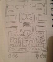 Original pac-man maze