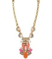 Pop Geo Pendant Necklace $40