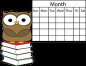 Upcoming Dates!