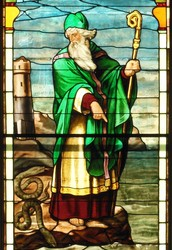 St. Patrick, the Fire-Spitter, and Hawk's Well
