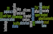 Wordle About Media and Media Literacy