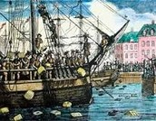 Britain shipped tea to the colonist to get Britain out of debt.