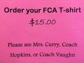 Buy your FCA T-Shirt