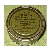 Banned Wood Alcohol
