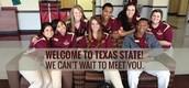 Freshman at Texas State