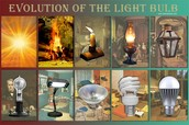 Evolution of The Light Bulb