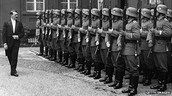Hitler and his army