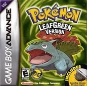 pokemon leaf green.