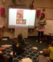 Mrs. Munir Teaching about the 80's