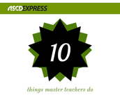 10 Things Master Teachers Do