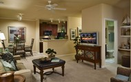 Two Bedrooms with 2 floor plans to choose from.