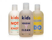 Botanically Infused Kids Shampoo, Conditioner and Body Wash