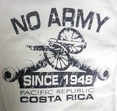 Costa Rica doesn't have an army